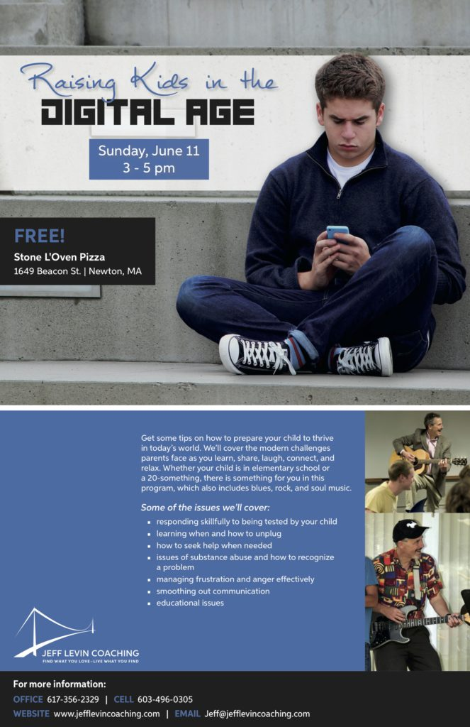 Jeff Levin Coaching Raising Kids in the Digital Age program June 11