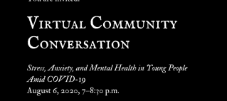 Virtual Community Forum on Mental Health